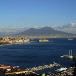 Bay of Naples with view of Vesuvius