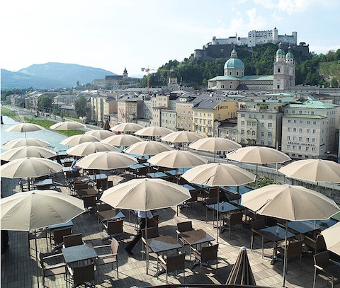 Hotel stein striking design hotel in salzburg austria for Designer hotel salzburg