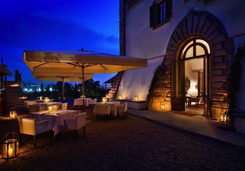 dining al fresco fiesole