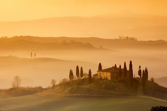 tuscany hills