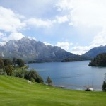 The lawns and views from Llao Llao hotel