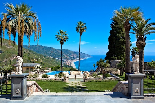 Luxury hotel Taormina