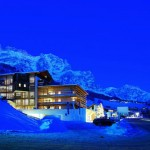 top ski hotels in italy